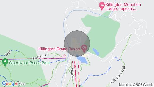 Mountain Green Ski & Golf Resort Map