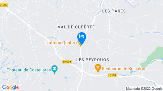 Hotel La Bastide De Valbonne Map