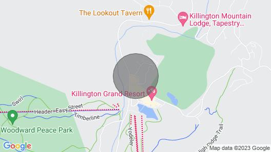 Premier Ski-in/ski-out - 3 Bedroom Townhouse - Sunrise Mountain, Killington, VT Map