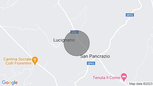 3 Bedroom Accommodation in Montespertoli FI Map