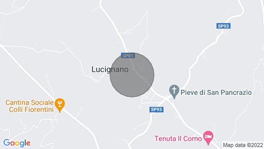 2 Bedroom Accommodation in Montespertoli Map