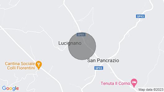 4 Bedroom Accommodation in Montespertoli FI Map