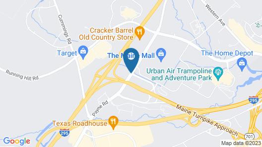 Days Inn by Wyndham Airport/Maine Mall Map
