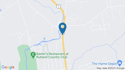 Days Inn by Wyndham Rutland/Killington Area Map