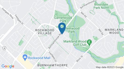 Applewood Hills Apartment Map