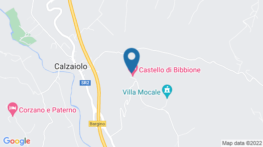 Picturesque Apartment in Montefiridolfi With Swimming Pool Map