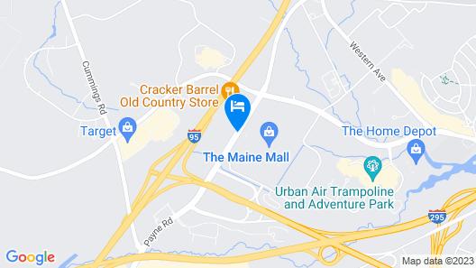 Tru by Hilton Portland Airport Area Map
