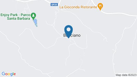 Borgo Bucciano Map