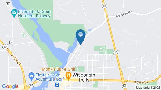 Deer Trail Motel Map