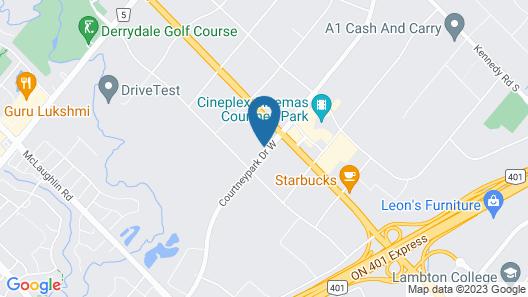 Residence Inn by Marriott Toronto Mississauga West Map