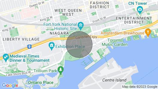 Swanky designer condo in downtown Toronto! Map