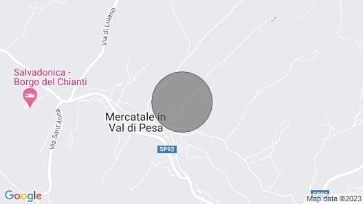 Villa Coltifredi Apartment Canaiolo Map