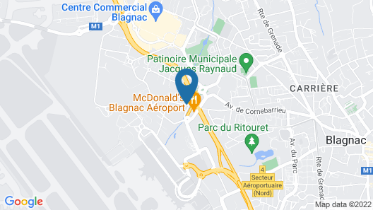 ibis Styles Toulouse Blagnac Aeroport Map