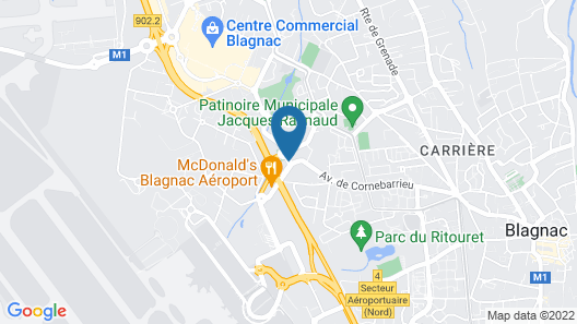 Holiday Inn Toulouse Airport Map