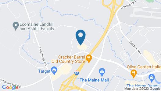 Portland Sheraton at Sable Oaks Map