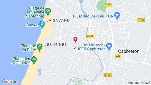 La Belle Vie Capbreton Map