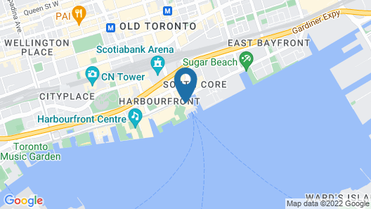 The Westin Harbour Castle, Toronto Map
