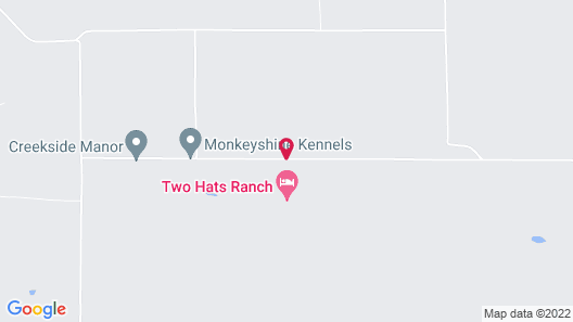 Two Hats Ranch Map