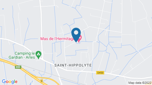 Magnificent Mas in the Heart of Crau Map