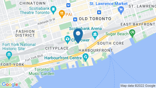Delta Hotels by Marriott Toronto Map