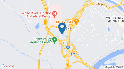 Holiday Inn Express Hotel & Suites White River Junction, an IHG Hotel Map