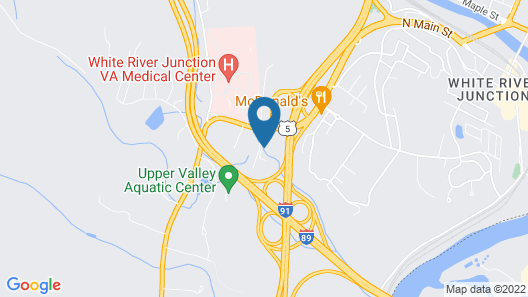 Hampton Inn White River Junction Map