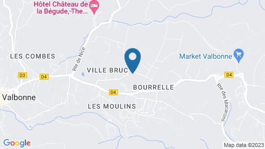 Villa Les Lucioles - Chambre d'Hôtes  Map