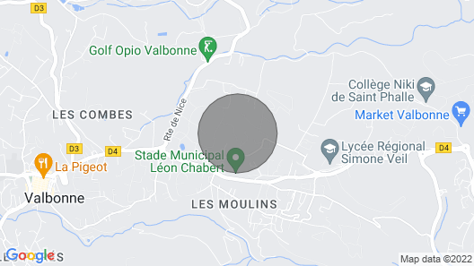 Villa - Private Domain - Large & Heated Pool - Valbonne Map
