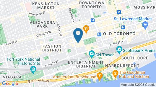 Le Germain Hotel Toronto Map