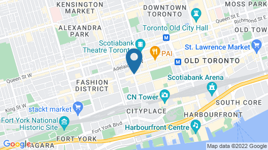 Hyatt Regency Toronto Map