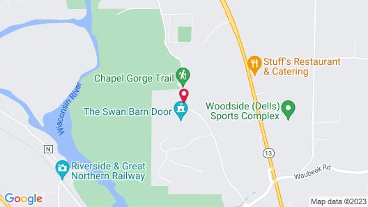 Birchcliff Resort Map