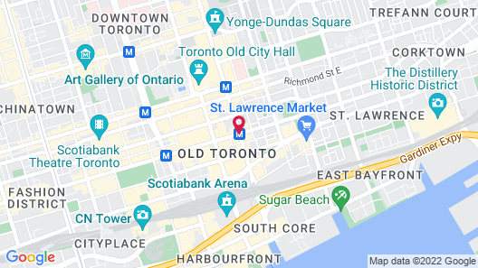 One King West Hotel & Residence Map