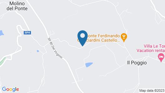 Rondini Blu Map