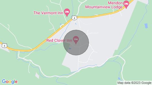 Red Clover Inn and Restaurant Map