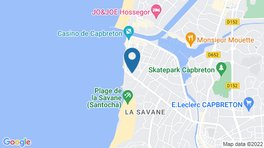 Body surf house Map