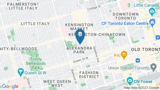 Studio 6 - Toronto Map