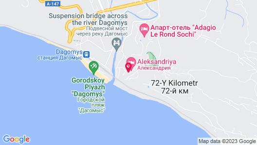 Villa Belveder Map