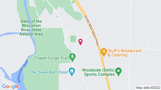 Silver Spruce Resort Map
