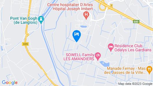 Mas Petit Fourchon Map