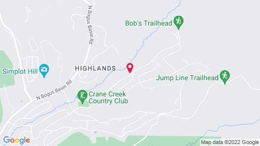 Chic Highlands Hideaway Map