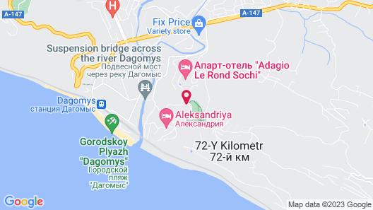Dagomys Resort Map