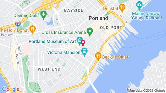Holiday Inn Portland-By the Bay, an IHG Hotel Map