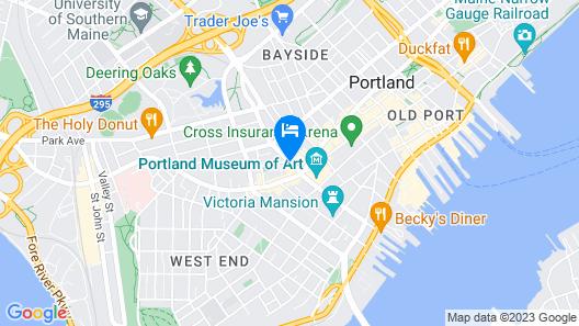 The Westin Portland Harborview Map