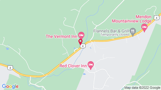The Vermont Inn Map