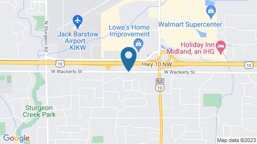 Baymont by Wyndham Midland Map