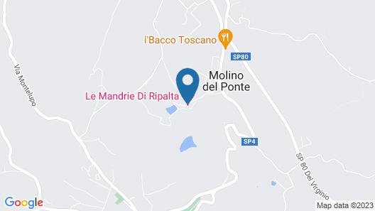 Le Mandrie di Ripalta Map