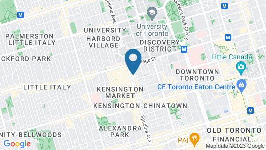 Two Peas Pod Hostel Map