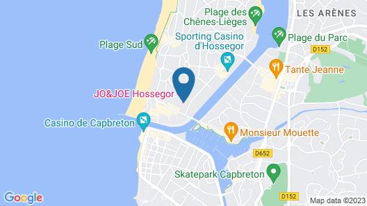JO&JOE Hossegor Hotel - Hostel Map