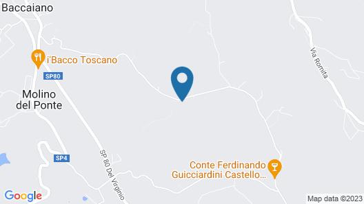 Cozy Farmhouse in Montespertoli With Swimming Pool Map