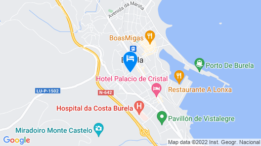 Hotel Canabal Map